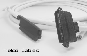 25 Twisted Pairs Telco Trunk Cable - Centronics 50 RJ21